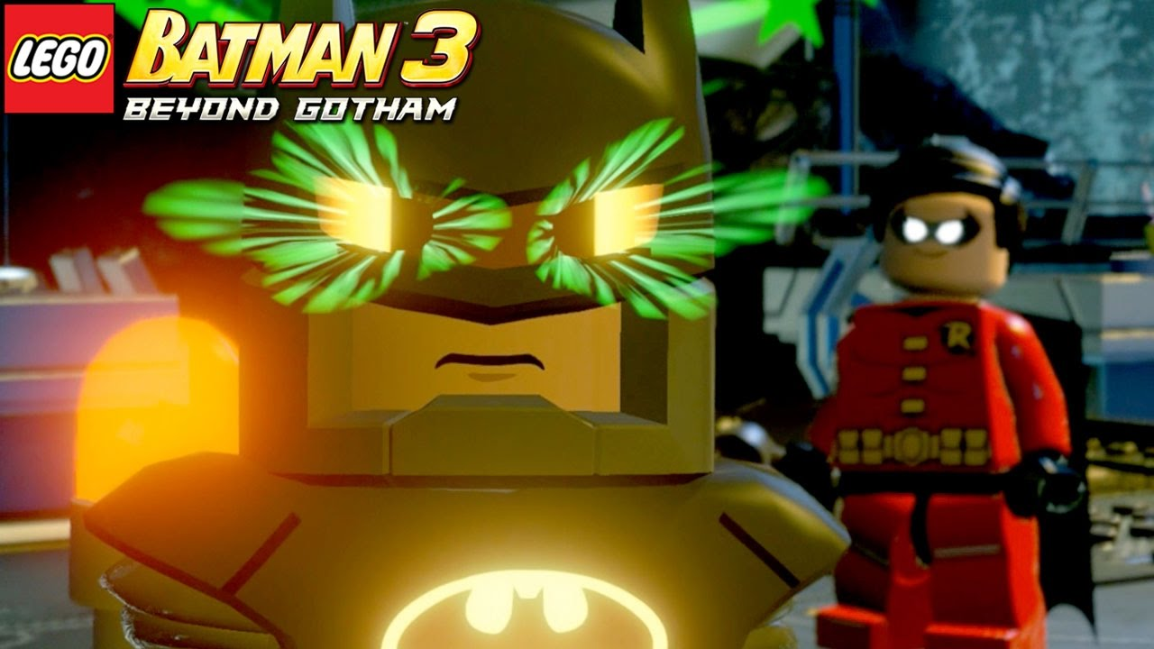 Lampada Lego Batman : Lego batman beyond gotham o batman estÁ possuÍdo youtube