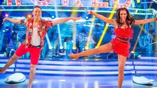 Frankie Bridge & Kevin Clifton Jive to