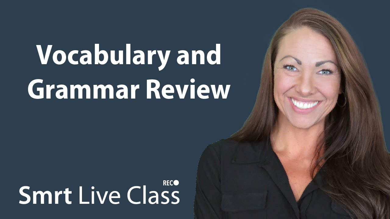 Vocabulary and Grammar Review - Pre-Intermediate English with Abby #46