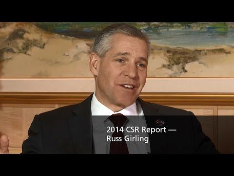 TransCanada — 2014 CSR Report — Russ Girling
