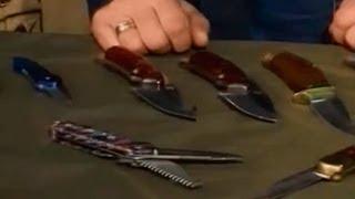"""Складные ножи Buck - обзор и тест в Программе """"Нож"""""""