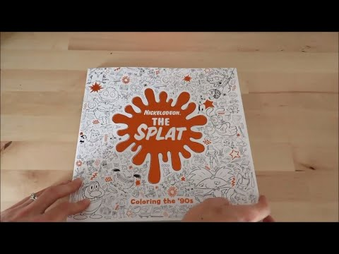 The Splat Coloring Book Nick Swag Nickelodeon Animation - YouTube