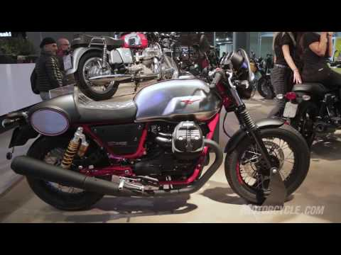 2017 moto guzzi v7 iii preview youtube. Black Bedroom Furniture Sets. Home Design Ideas
