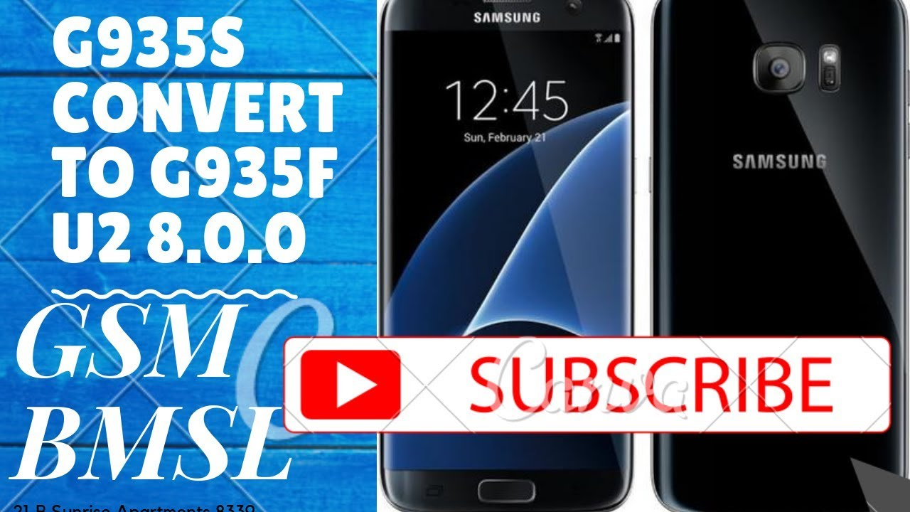 G935S convert to G935F U2 8 0 0 100% tested firmware