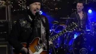 "U2 - BREATHE ""LIVE"" - 2009 No Line On The Horizon, David Letterman Show"