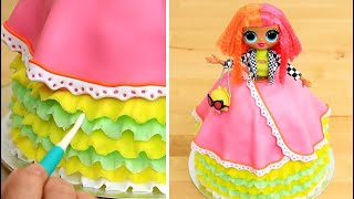 AMAZING LOL Doll Cake | Easy Cake Decorating Idea by Cakes StepbyStep