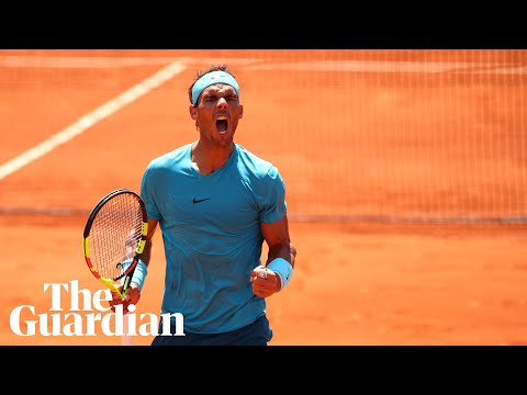 Rafael Nadal: 'If you don't feel the pressure, you don't love the sport'