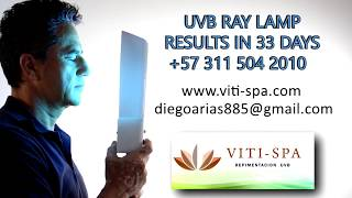 uvb ray lamp results in 33 days