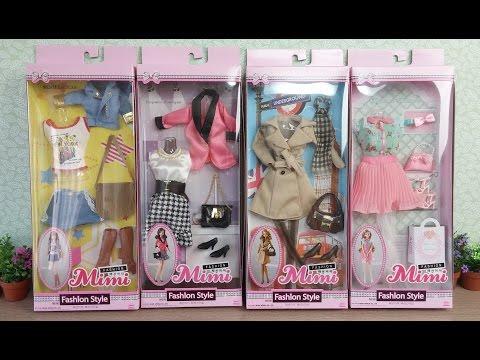 Barbie Doll Clothes & Dress 1 バービー人形服&ドレス 1 Barbie Boneca Roupas & Vestido 1