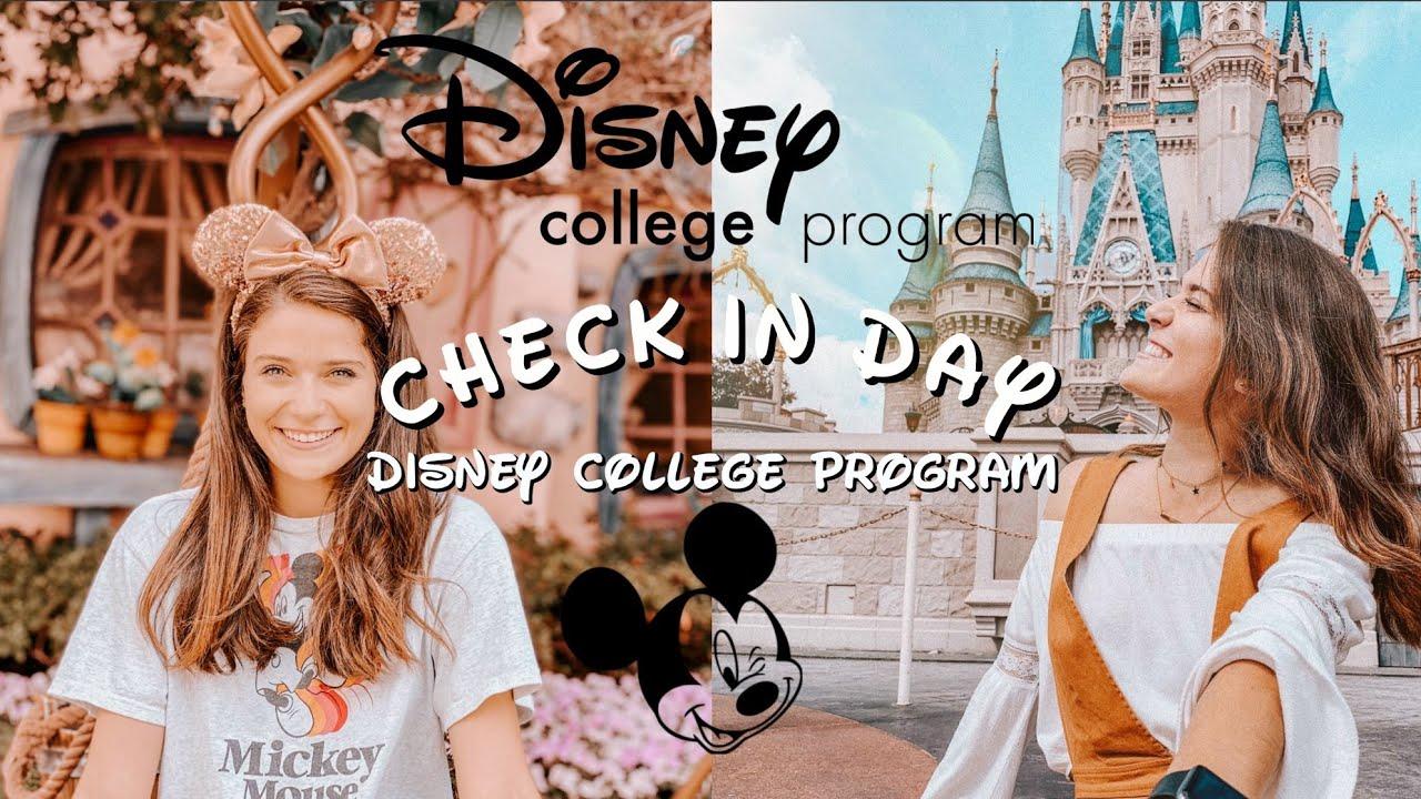 My First Day \\ Check-In | Disneyland College Program 2019