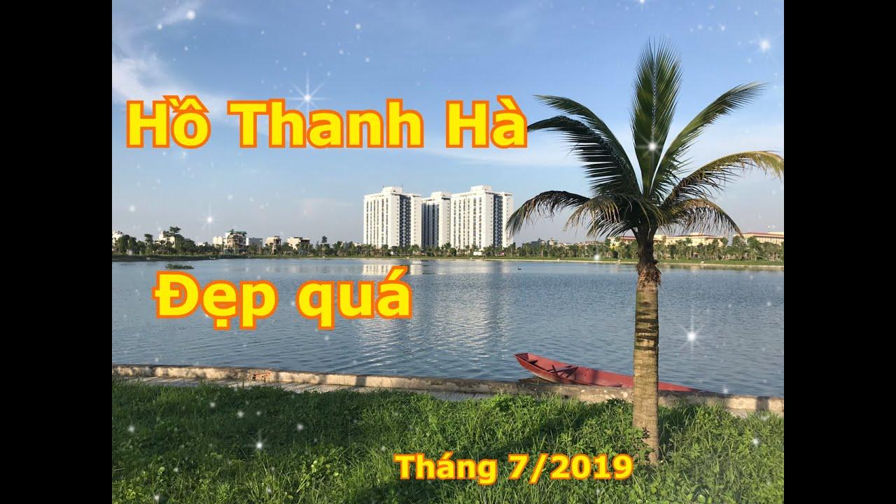 Hồ Thanh Hà 2019 – Lá phổi xanh trong lòng đô thị xanh