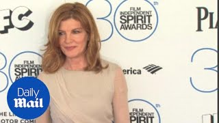 Rene Russo stuns in sheer nude dress at Independent Spirits - Daily Mail