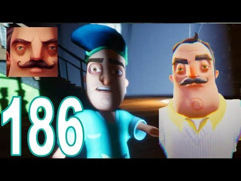 Hello Neighbor - My New Neighbor Normal Day Act 1 Gameplay Walkthrough Part 186