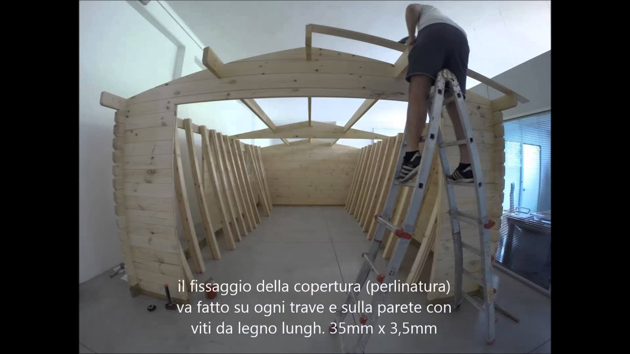 Filmato garage in legno casacasette youtube for Come costruire un garage distaccato