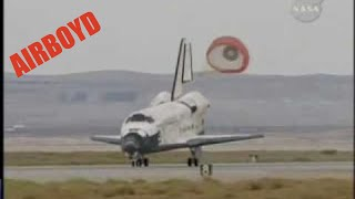 Space Shuttle Discovery Landing STS-128 Edwards Air Force Base