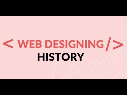 histroy of web designing, Web Designing History, History of Web  Design, Web Design History