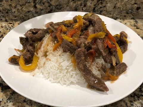 Pepper Steak And Rice | Pepper Steak Recipe | Southern Smoke Boss