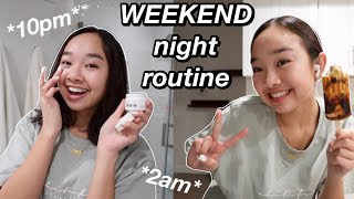 WEEKEND NIGHT ROUTINE 2021 | Nicole Laeno