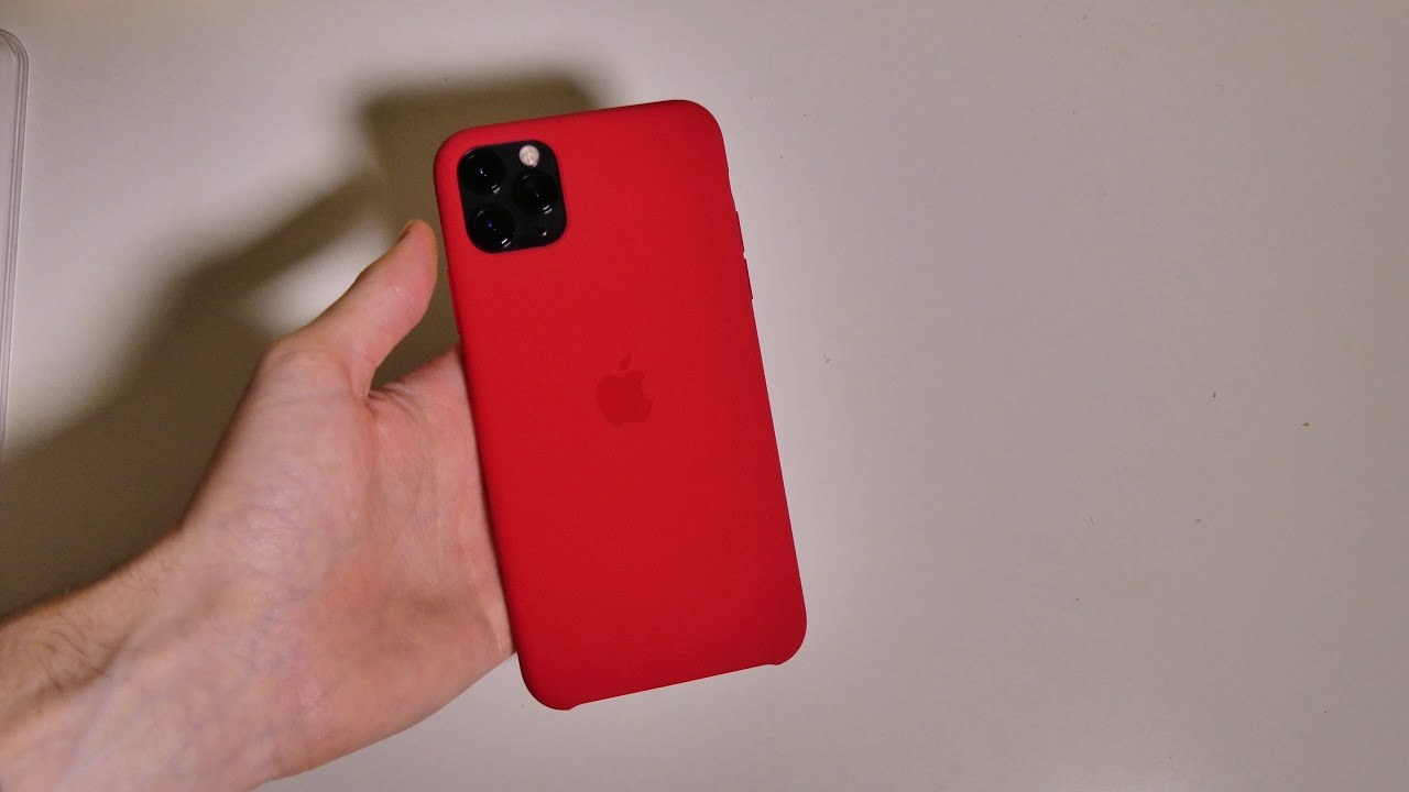 Iphone 11 Pro Max Silicone Case Youtube