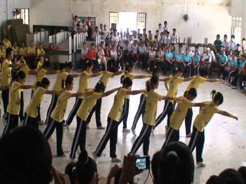 Thể dục đồng diễn - Chung kết - 12Anh - 08AN