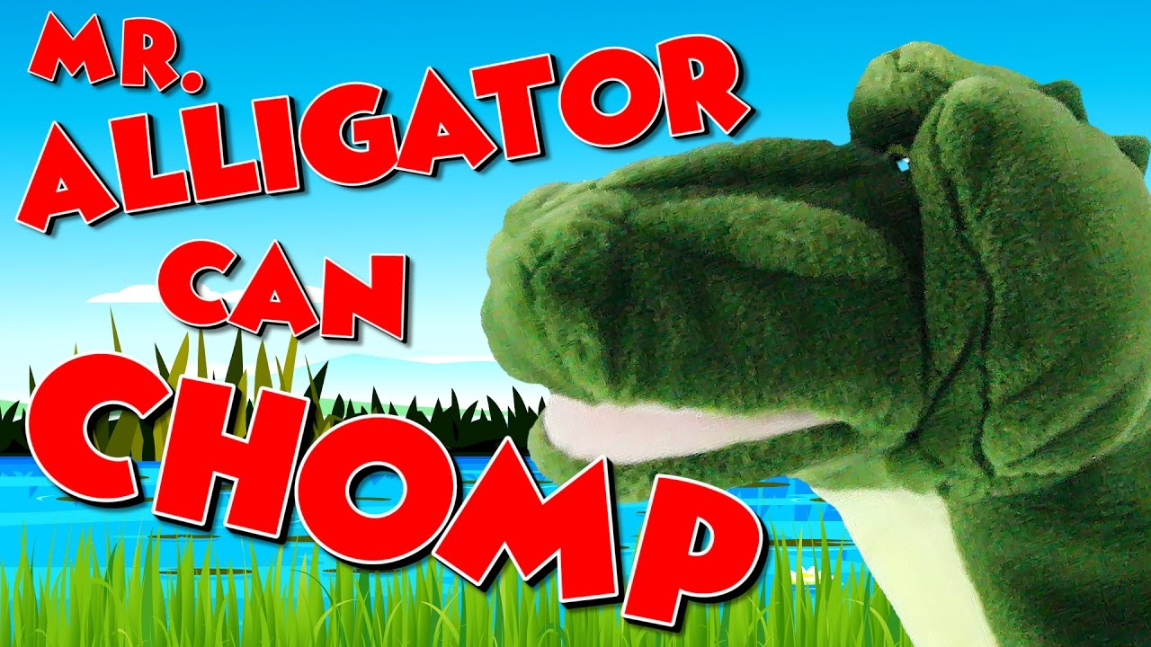 Mr Alligator Can Chomp Math Song For Kids Less Than And Greater
