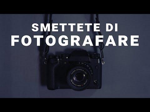 Smettete di fotografare