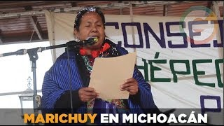 Marichuy en Michoacán