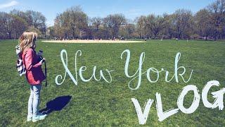 New York VLOG! | Нью-Йорк ВЛОГ!
