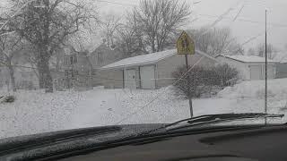 Sleepy Eye Minnesota. Another snowstorm. Yea