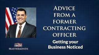 How to Get on the Preferred Vendor List with a Former Contracting Officer and CEO