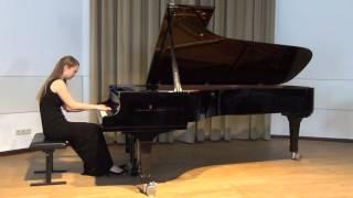 """F. Schubert; aus 3 Klavierstücke D 946, Nr. 1 """"Allegro assai"""""""
