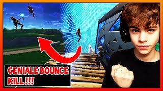 GENIAL - BOUNCE KILL!!!!!! FORTNITE BATTLE ROYALE - FRANCE Néerlandais