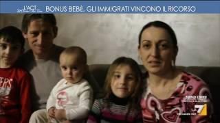 Bonus bebé: gli immigrati vincono il ricorso