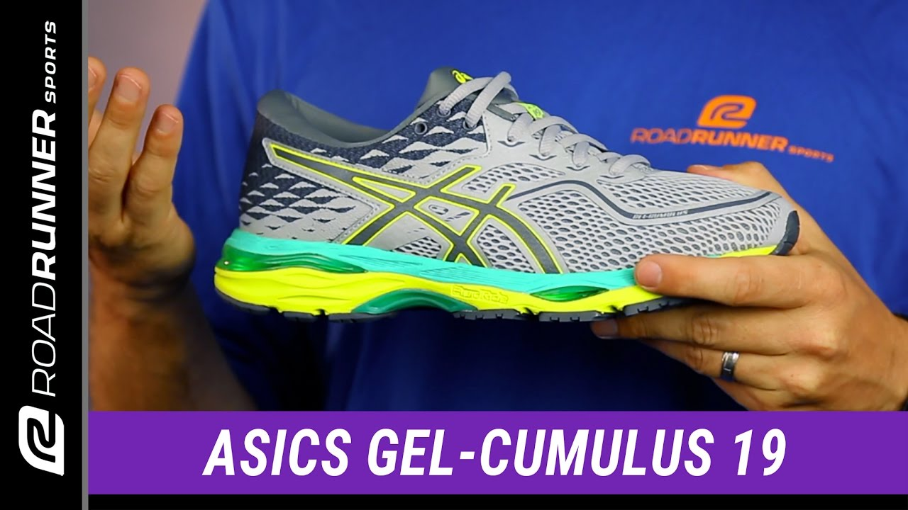 Asics GEL CUMULUS 19 YouTube