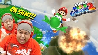 I'M WAY TOO HYPE FOR THIS SH#T!! [SUPER MARIO GALAXY 2] [#02]