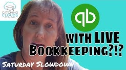 Intuit Offers Live Bookkeeping?!?! | Saturday Slowdown