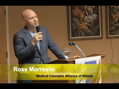 Ross Morrealle from the Medical Cannabis Alliance of Illinois