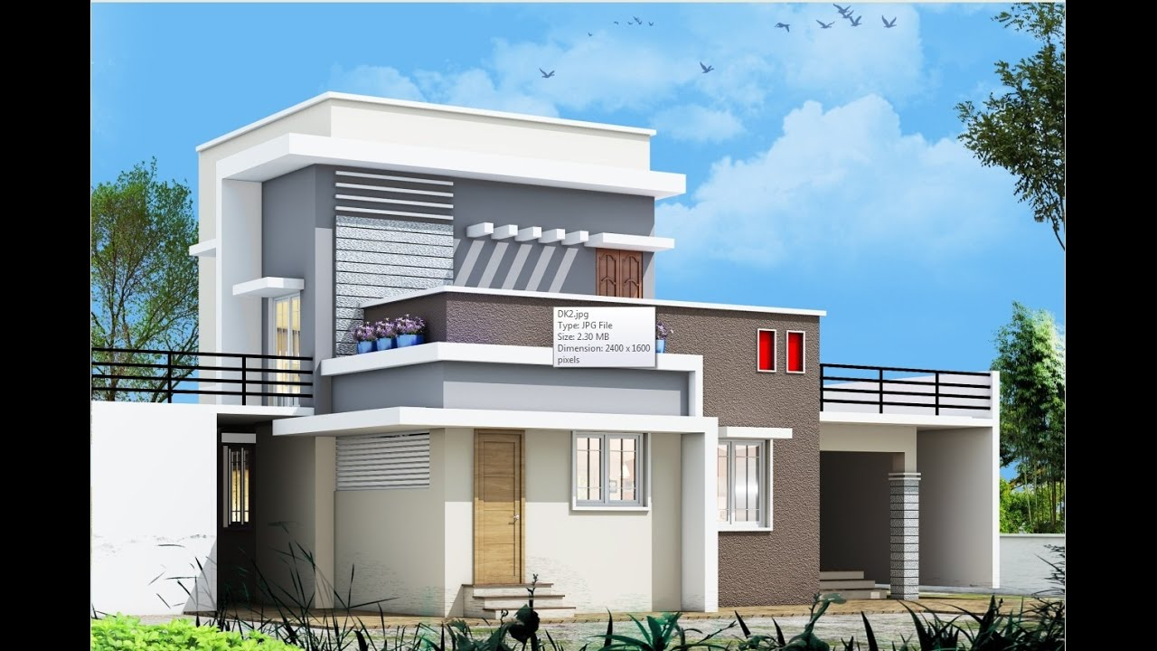 exterior house designs 3d max. 3DS MAX VRAY EXTERIOR RENDERING FOR INDIAN HOUSE PART 1 BY RATHAN