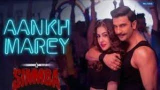 Download lagu SIMMBA: Aankh Marey | Ranveer Singh, Sara Ali Khan | Tanishk Bagchi, Mika, Neha Kakkar, Kumar Sanu