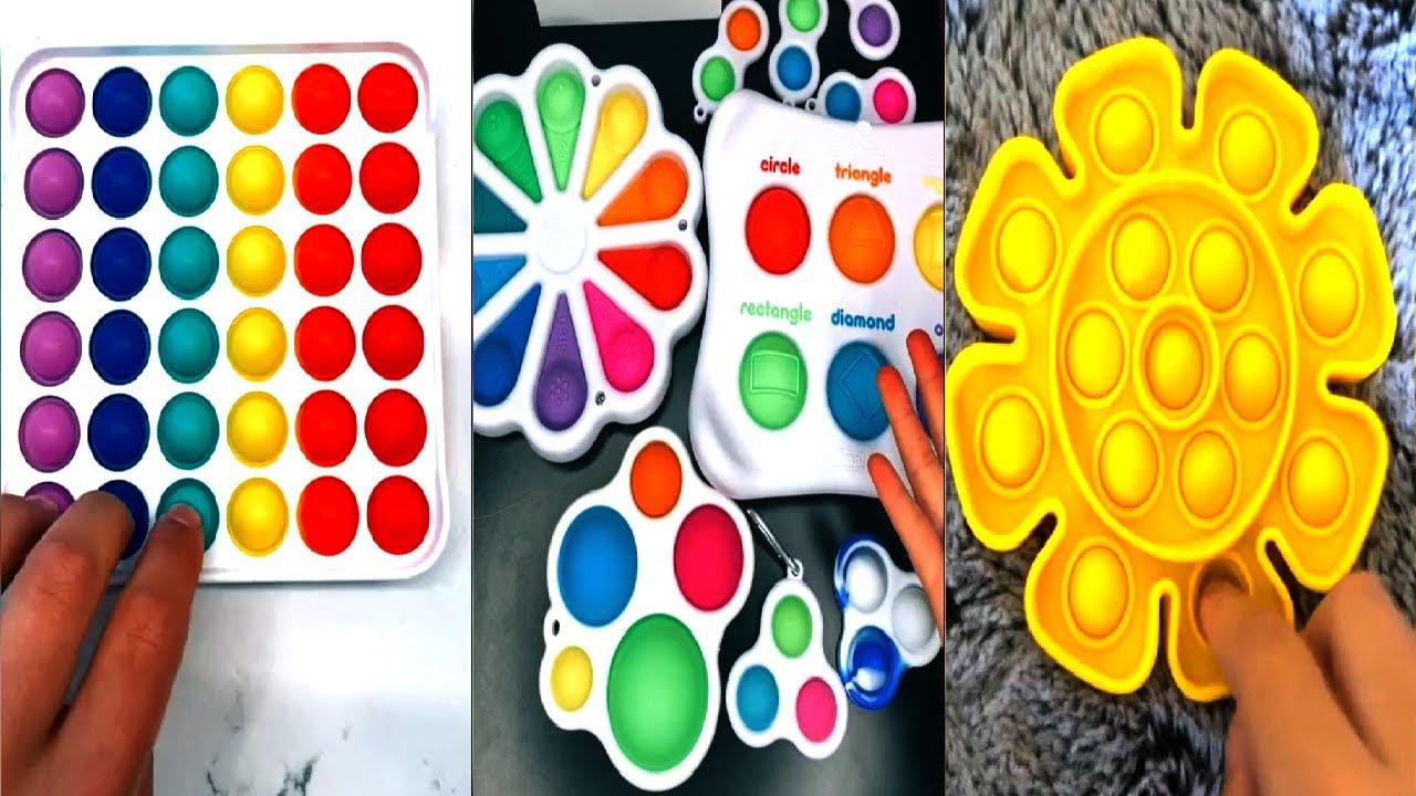 #ASMR Fidget Toys TikTok Compilation   Toys Asmr   11