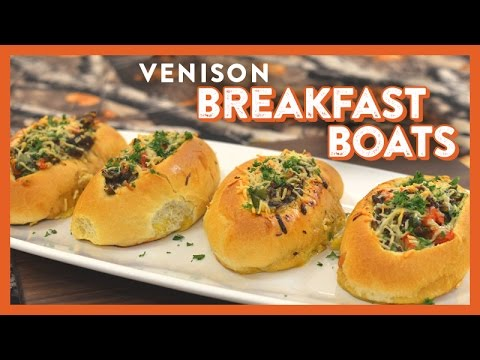 Venison Breakfast Boats Camping Tips Today