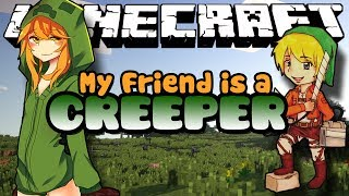 Minecraft Mods: MobTalker - My Friend is a Creeper - BAD DREAM! (Roleplay) Ep. 4