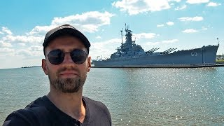 Военный корабль в Алабаме. Приехали во Флориду