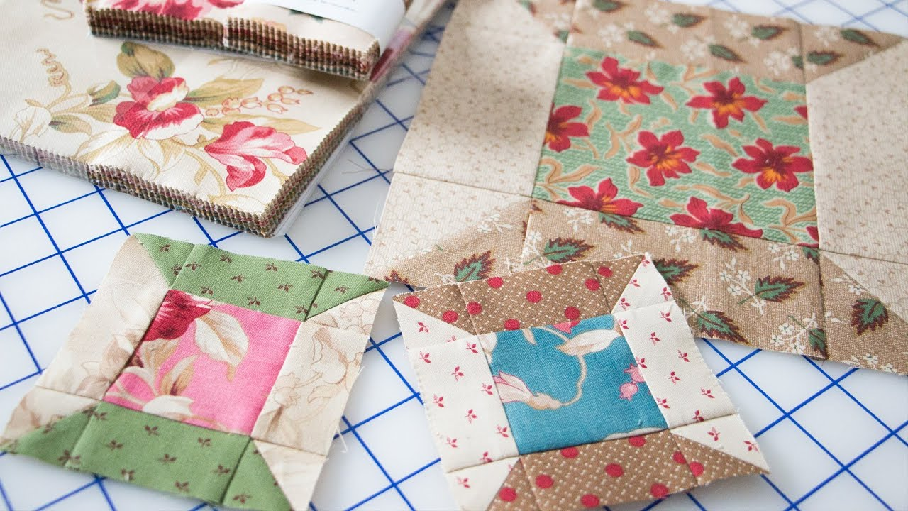 Easy Spool Quilt Block Featuring Precut Fabrics by Edyta ...