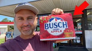 The TRUTH about BUSCH LIGHT APPLE BEER!