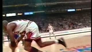 Michael Jordan 43 pts, playoffs 1993 bulls vs cavs game 1
