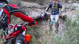 Escalon!! de Enduro trial!