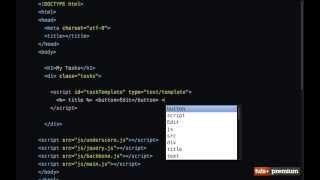 Backbone JS Hands On Tasks Dom Events - 13 tutsplus