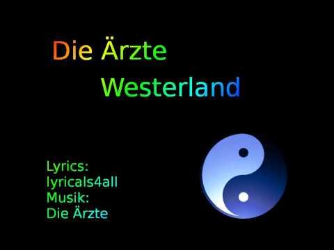 Die Ärzte - Westerland (mit Lyrics)