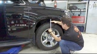 Тюнинг Chevrolet Tahoe 4 - Установка лифт комплекта для прохождения бездорожья